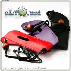 V1 Кожаный чехол с бусинкой для ношения электронной сигареты eGo на шее