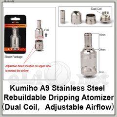 A9 Kumiho RDA - ОА для дрипа из нержавеющей стали с регулируемой подачей воздуха.