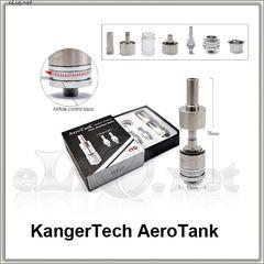 [KangerTech] 2.5ml  AeroTank - Dual Coil - двуспиральный, с регулируемой подачей воздуха