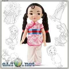 Кукла Принцесса-малышка Мулан (Disney)