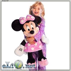Огромная плюшевая игрушка Минни Маус в розовом платье Minnie Mouse Disney. Дисней оригинал США