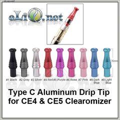 Алюминиевый фигурный дрип-тип для СE4, СЕ5 и тп.