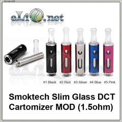 [Smoktech] Slim Glass DCT - дуалкоил-танк