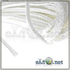 (2 мм) Плетенный шнур для фитиля, 1 метр / atomizer wick (2 mm) Кремнезем, стекловолокно