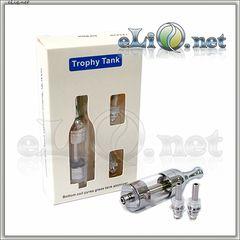 [Smoktech] Trophy Tank V2 - 5мл Purex Glass BCC стеклянный разборной клиромайзер с нижним расположением спирали - набор