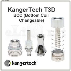 [KangerTech] T3D Dual Coil / Разборной двуспиральный клиромайзер