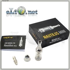 [Aspire] 2ml Nautilus Mini BVC Adjustable Airflow Pyrex Glass - Мини Наутилус