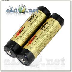 Efest 18650 3000mah Protected Li-ion battery with Nipple. Защищенный литий-ионный аккумулятор