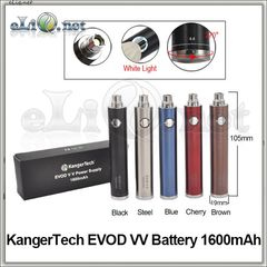 [KangerTech] EVOD VV / EVOD Twist 1600mAh - варивольт