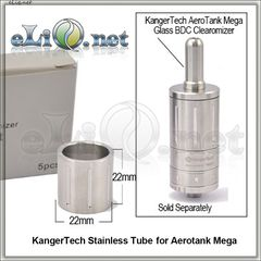 [KangerTech] Стальная колба для  AeroTank Mega
