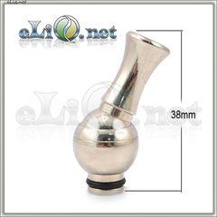 [510] Вращающийся на 360 градусов дрип-тип из нержавеющей стали / хромированный