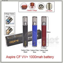 Aspire CF VV plus 1000mAh Battery. Варивольт для электронной сигареты.