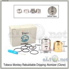 Tobeco Monkey RDA - ОА для дрипа из нержавеющей стали. клон