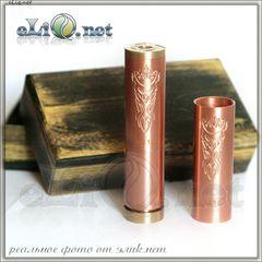 Akuma Copper Mechanical Mod 18350 / 18500 / 18650 - Механический мод, клон.