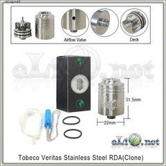Tobeco Veritas RDA - ОА для дрипа из нержавеющей стали. клон