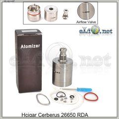 Hcigar Cerberus 26650 RDA - ОА для дрипа из нержавеющей стали. клон.