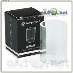 KangerTech Subtank - стеклянная колба. Pyrex Glass Replacement Tube