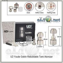 UD Youde Goblin Rebuildable Tank Atomizer - обслуживаемый атомайзер-танк. Гоблин.