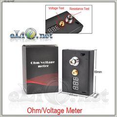 Простой цифровой омметр и вольтметр. Simple Ohm & Voltage Meter