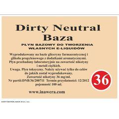 Dirty Neutral Baza (36) - ароматизированная табачная база.