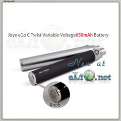 [Joyetech] Joye eGo-C Twist Variable Voltage 650mAh battery