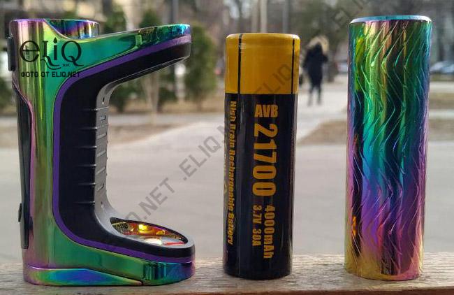 Характеристики и вид комплектного аккумулятора 21700 в батарейном блоке iStick Pico S 21700 изображение Элик