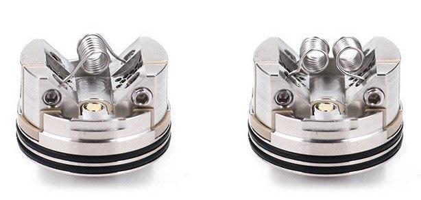 Варианты установки спиралей в дрипке Thunder Head Creations Tauren RDA изображение Элик