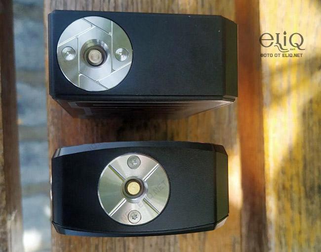 Отличие коннектора в бокс-моде VooPoo Drag и Drag 2 изображение Элик