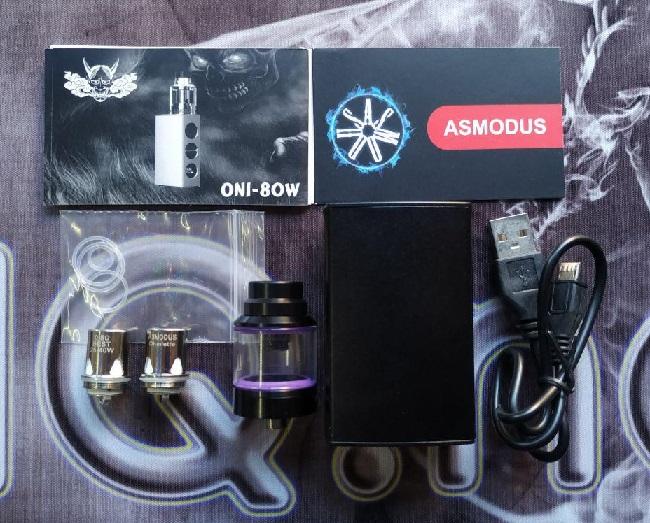 Комплектация стартового набора asMODus Oni Edition 80W изображение Элик