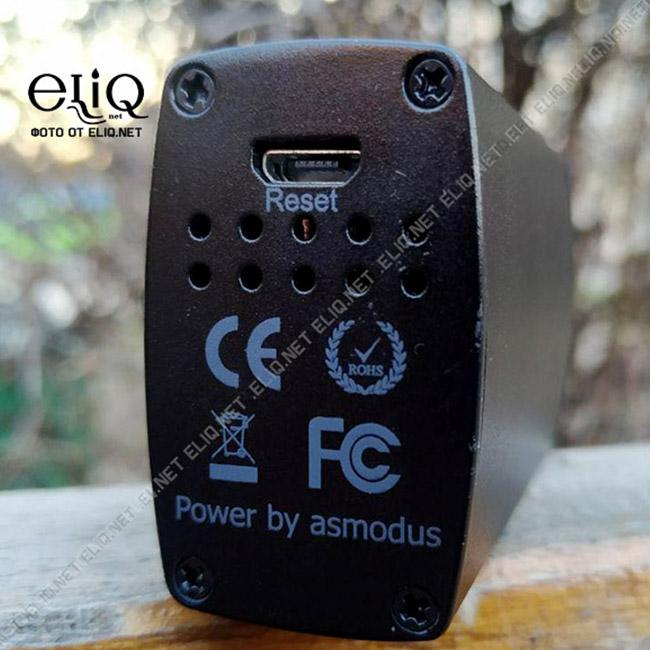 Зарядка, перезагрузка мода из стартового набора asMODus Oni Edition 80W изображение Элик