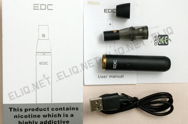 Комплектация электронной сигареты Sikaryvapor - EDC POD фотография Элик
