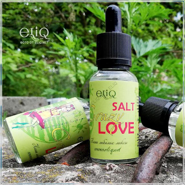 Жидкость на солевом никотине для заправки электронной сигареты Элик Crazy Love фото