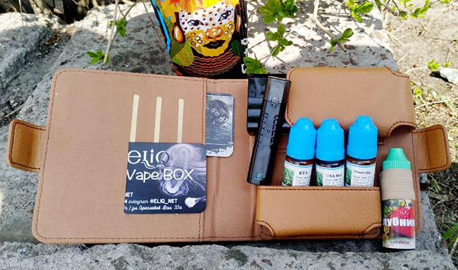 Кожаный чехол для Айкос IQOS Leather Case фото