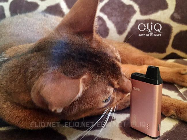 Электронная сигарета Sikary vapor - SUNL POD использование фотография Элик